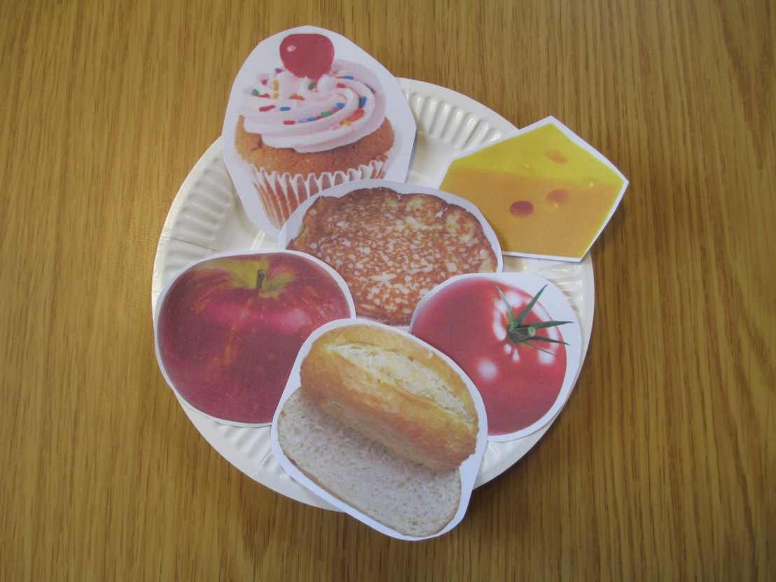 paper plate craft – our mouths – we are wonderfullymade!