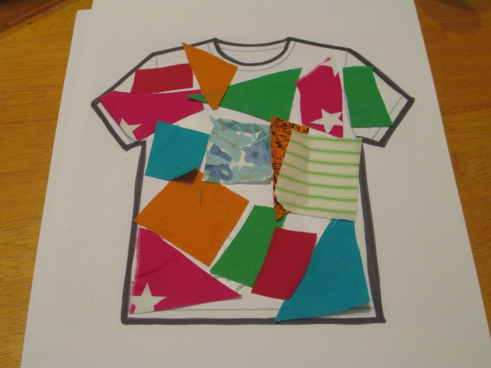 Tabitha - T-shirt craft (3/3)