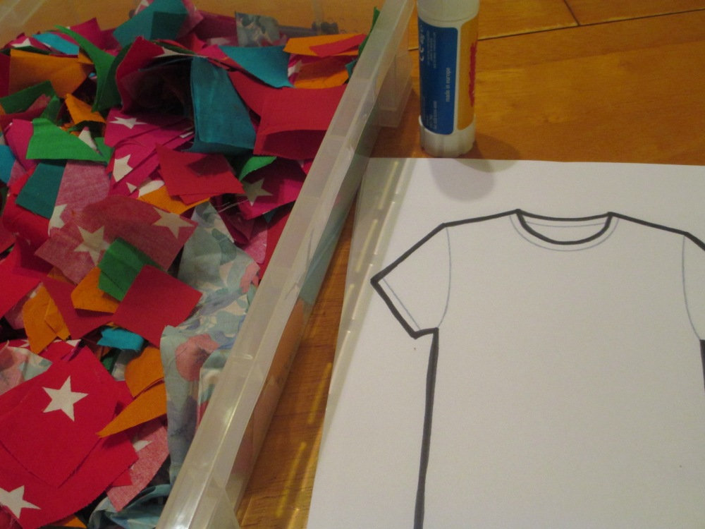 Tabitha - T-shirt craft (2/3)