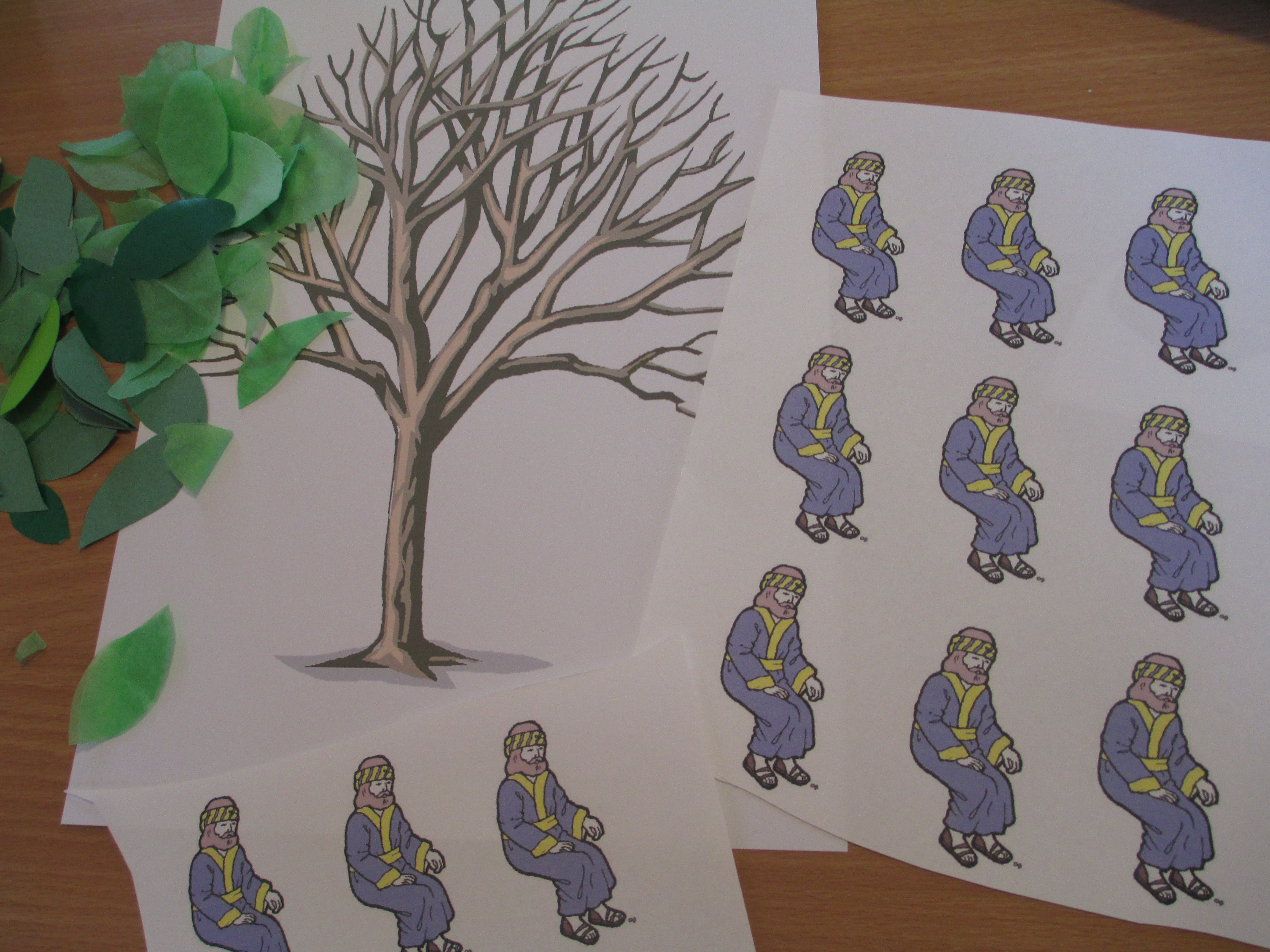 sycamore tree preschool zacchaeus let their light shine 441