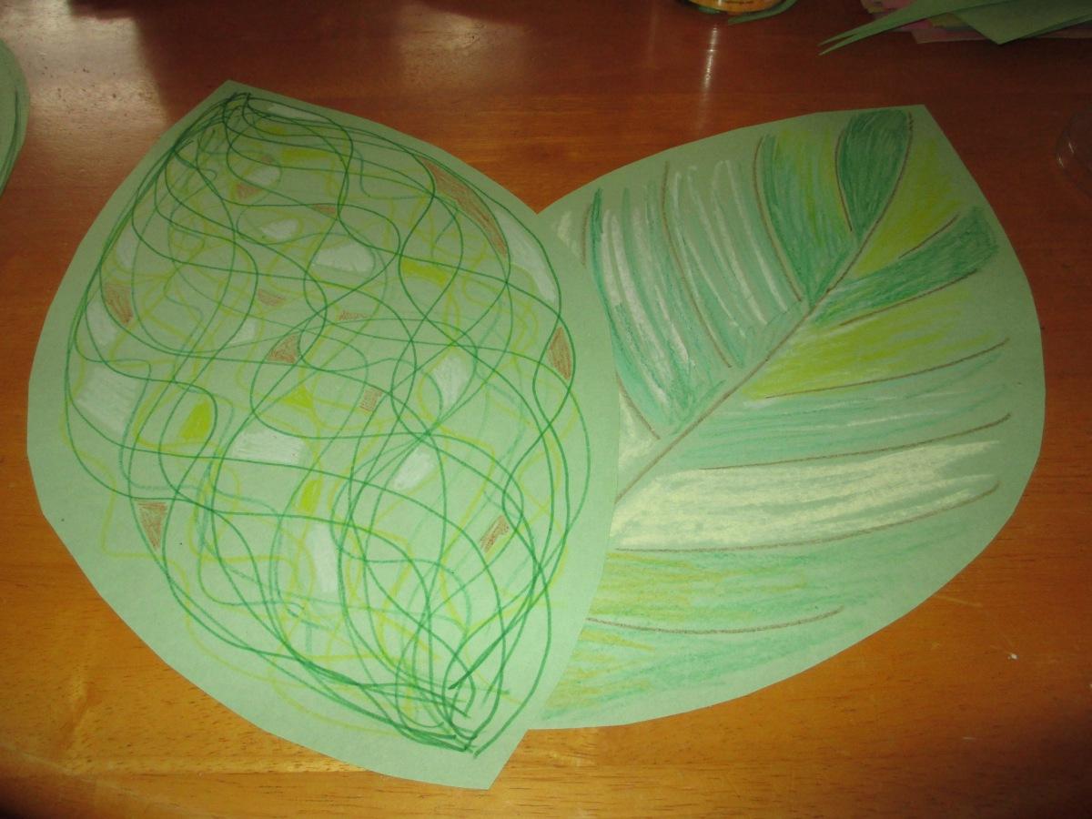 Palm Sunday - Palm leaf craft