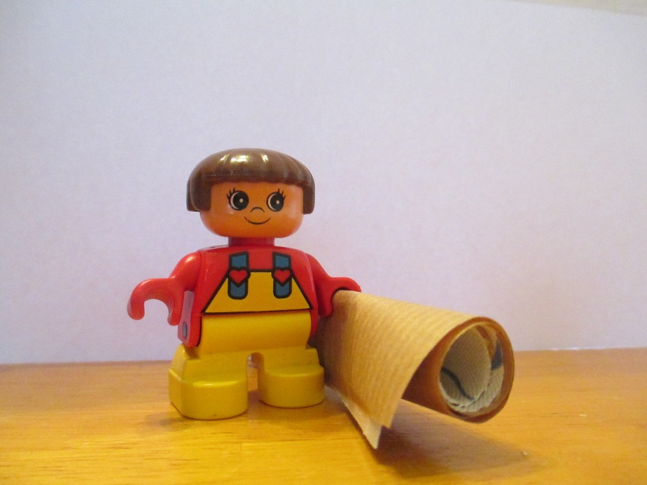 The man with four friends – duplo storytelling