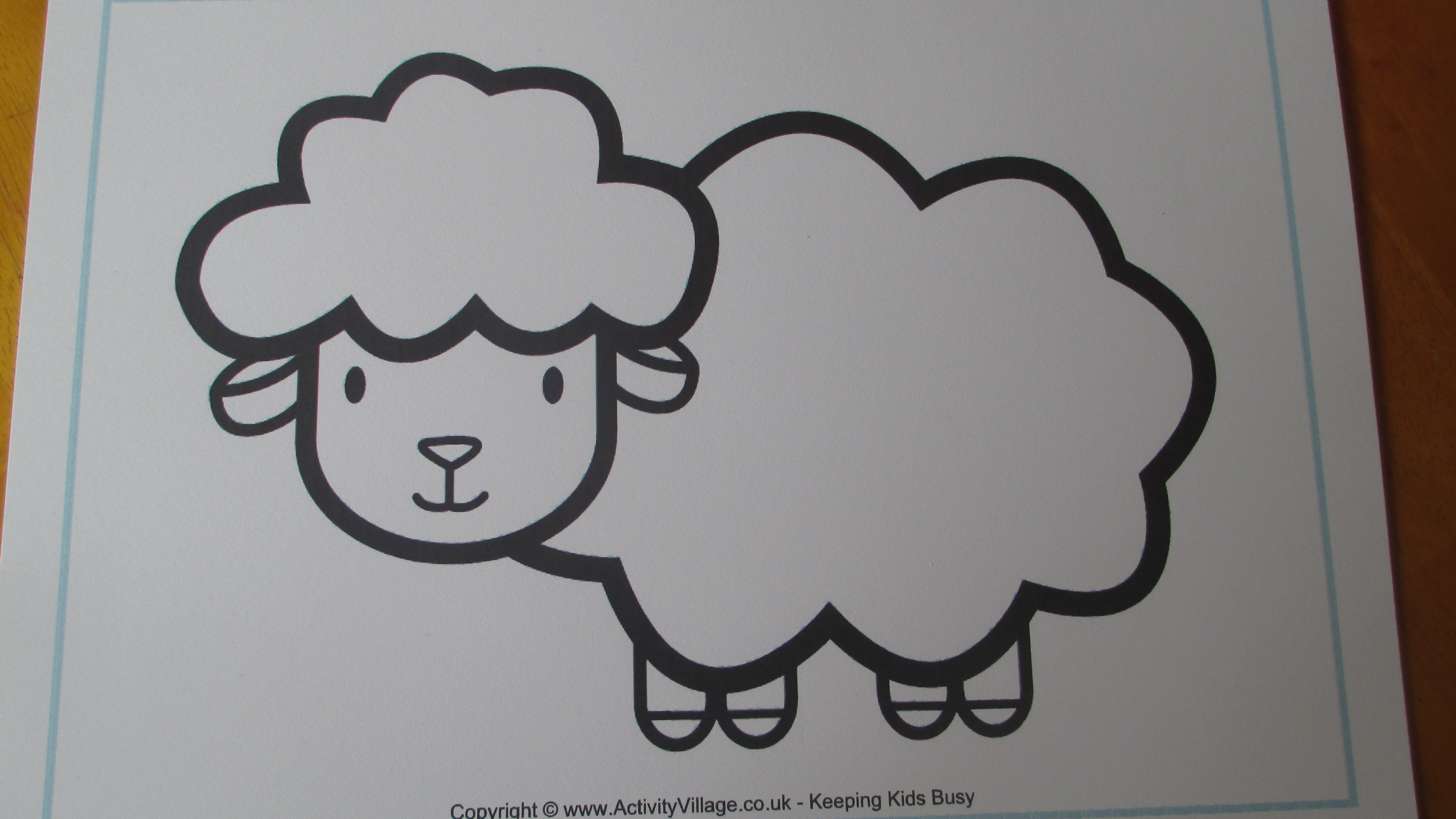 The lost sheep let their light shine for Coloring page lamb