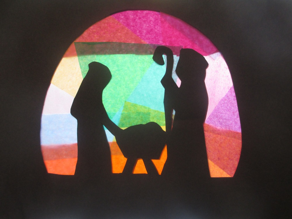 Stained Glass Nativity (1/6)