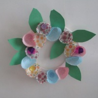 Spring/Easter wreath craft (DIY)