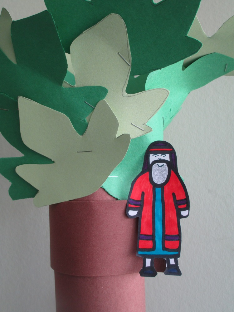 Zacchaeus in the tree craft (4/6)