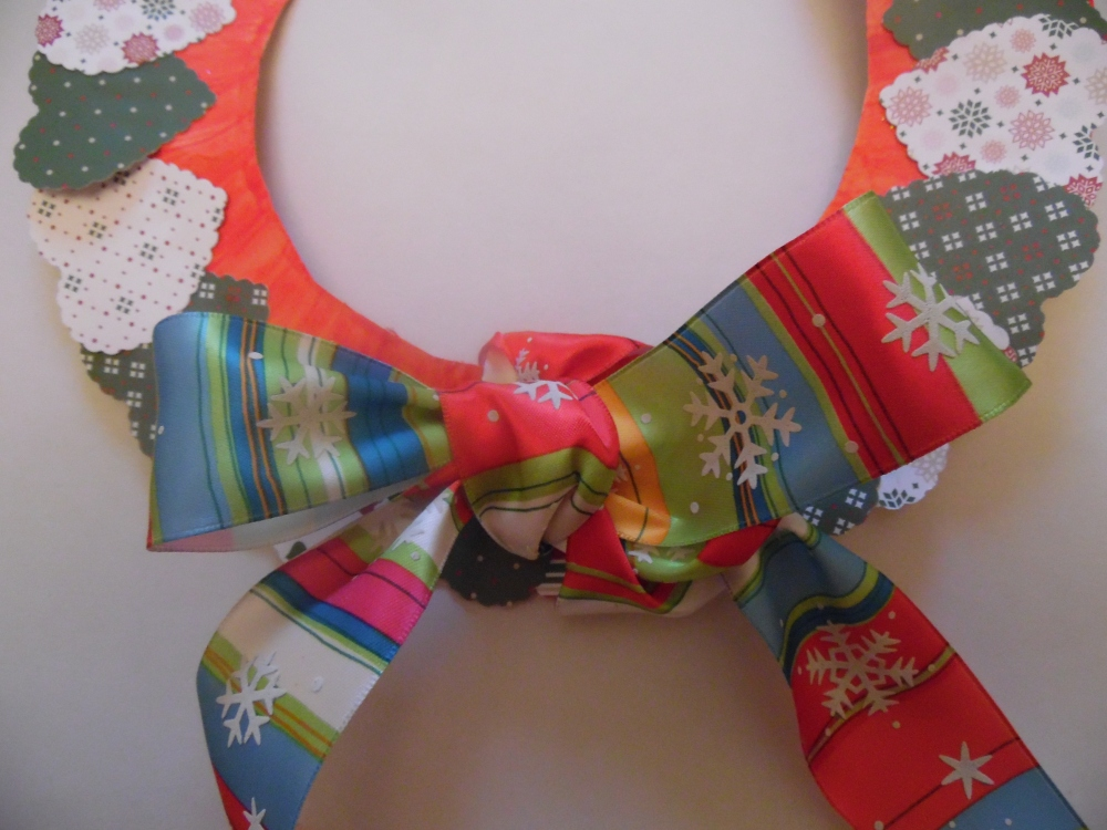 Christmas heart wreath (3/4)