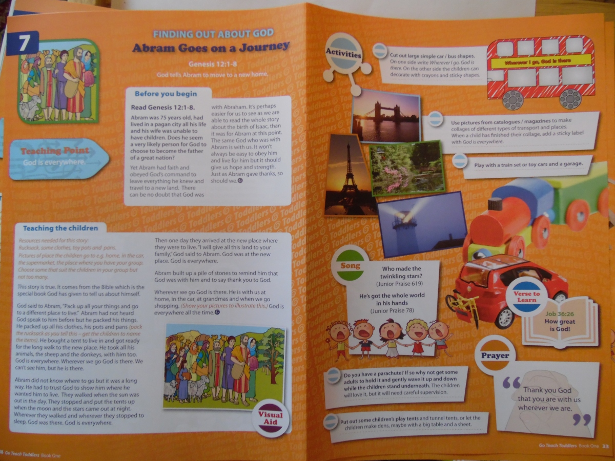 Toddler Group Book