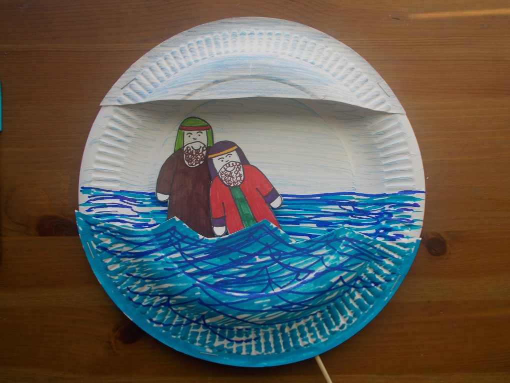 baptism craft ideas jesus is baptised let their light shine 1093