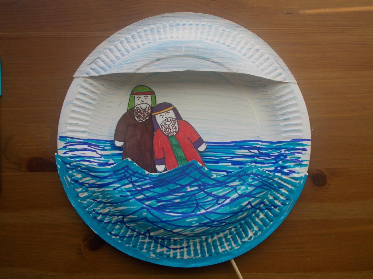 Jesus is baptised
