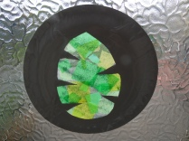 palm leaf suncatcher
