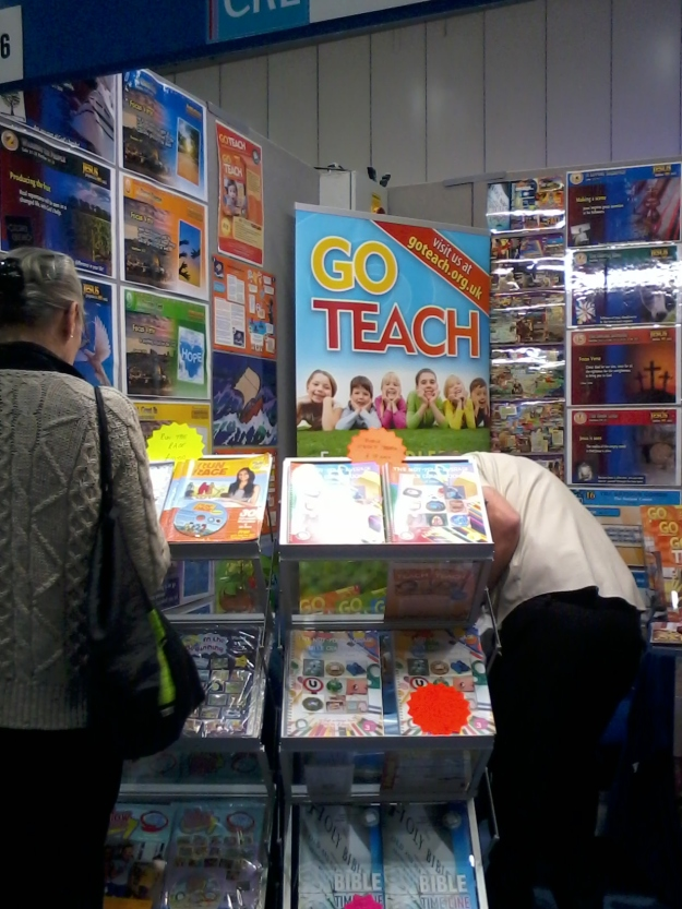 The Go Teach stand
