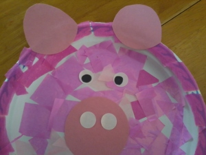 this little piggie went to toddler group!