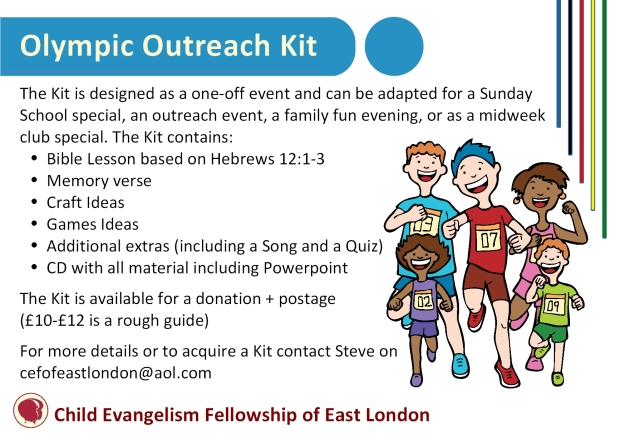 A6 - Olympic Kit Leaflet