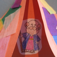 Abraham in his tent craft