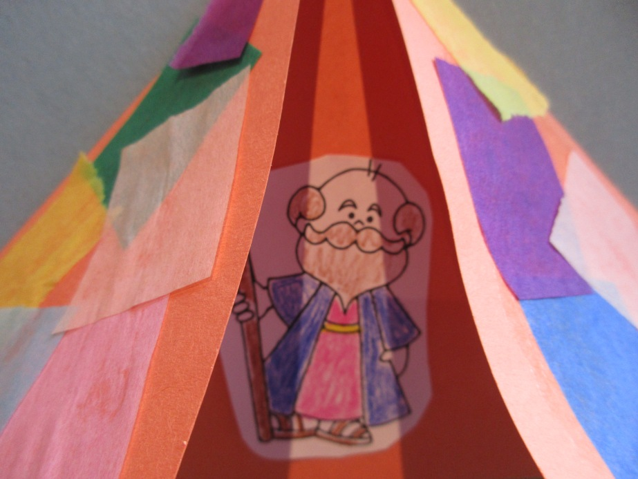 Abraham in his tentcraft