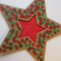 Another Christmas star idea!