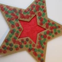 Another Christmas star idea!