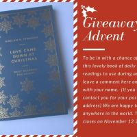 Bible verse advent calendar to download and a giveaway!